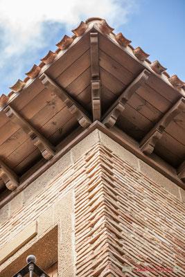 Détail architectural d'une maison noble, Olite, Navarre / Detalle arquitectónico de una casa noble, Olite, Navarra
