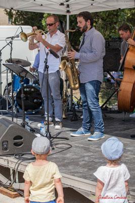 """""""Pas d'âge pour aimer le jazz""""; Jérôme Dubois, Paul Robert, Quintet On Lee Way, Festival JAZZ360, Quinsac, 11/06/2017"""