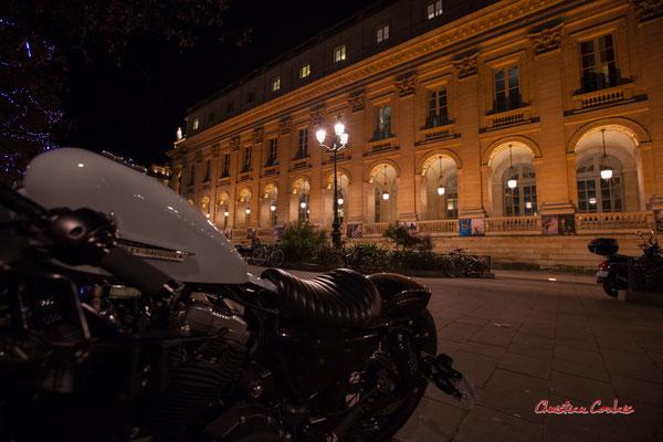 """""""Pilote facile/Easy rider"""" Grand-théâtre de Bordeaux. Mercredi 16 décembre 2020. Photographie © Christian Coulais"""