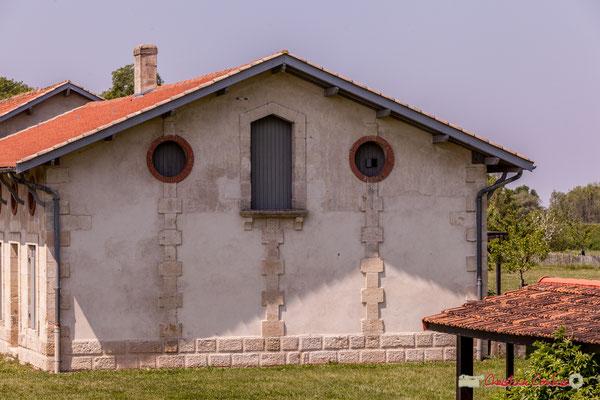 """""""Mur pignon"""" Village Sans-Pain, Île Nouvelle, Gironde. 06/05/2018"""