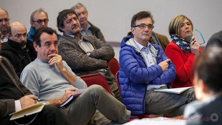 Alain Bargue, Maire de Bonnetan; Lionel Faye, Président de la CDC des Portes de l'Entre-Deux-Mers, Maire de Quinsac