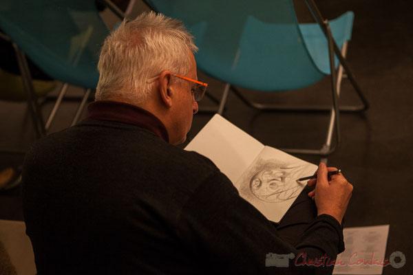 """Eric Lefeuvre a créé les dessins""""ethniques"""" des CD. Le Rocher de Palmer"""