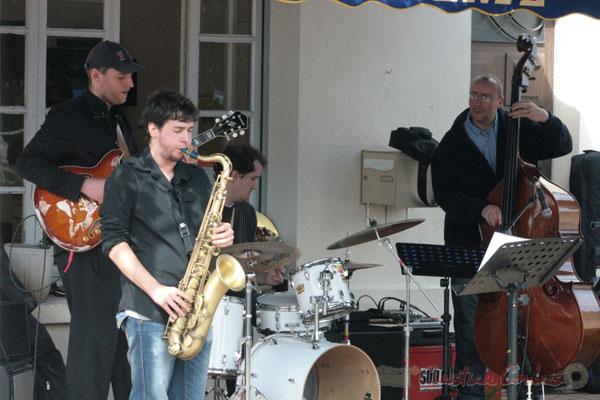Paul Robert. Ateliers Jazz des Conservatoire d'Agen, Bordeaux, Mont-de-Marsan. Festival JAZZ360 2010, Cénac. 16/05/2010