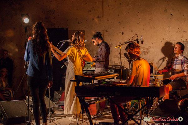 Nicolas Girardi; Laure Sanchez Quintet, JAZZ360 au Domaine de Sentout, Lignan-de-Bordeaux. 08/09/2018