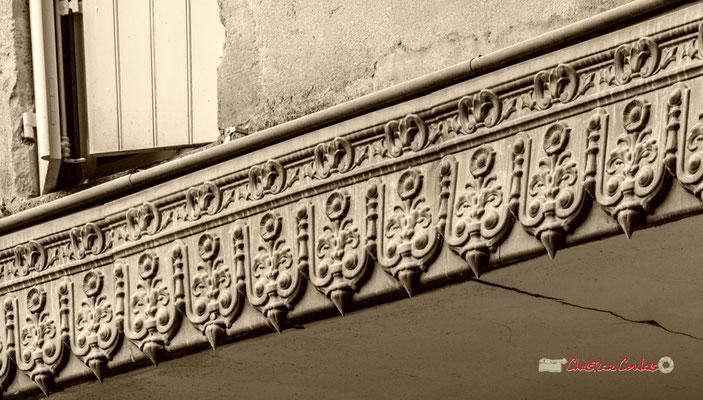 Zinguerie, détail; Domaine de Malagar. Centre François Mauriac, Saint-Maixant. 28/09/2019 Reproduction interdite - Tous droits réservés © Christian Coulais