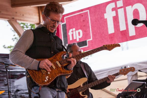 Christophe Maroye Quartet : Christophe Maroye. JAZZ360-M.A.S. L'ADAPT, Camblanes-et-Meynac. 17/05/2019.