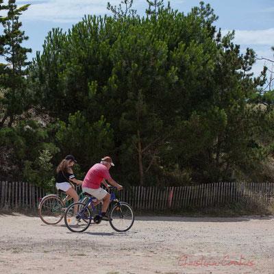 Cyclisme sur la Promenade Marie Beaucaire, Saint-Gilles-Croix-de-Vie, Vendée, Pays de la Loire