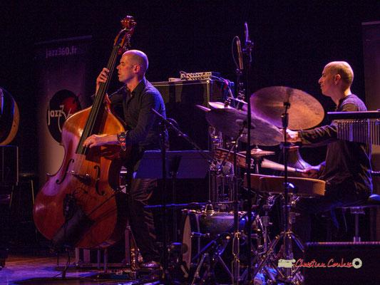 Chris Jennings, Asaf Sirkis; Céline Bonacina Crystal Quartet; Festival JAZZ360 2019. Cénac, 08/06/2019