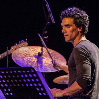 Le Jardin Quartet : Gaétan Diaz, batterie. Festival JAZZ360 2016