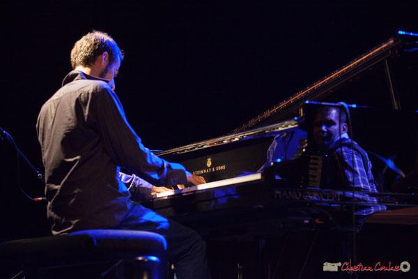 Eym Trio; Elie Dufour, Marian Badoï. Festival JAZZ360, Cénac, 09/06/2017