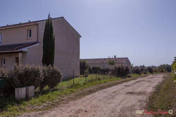 3 Habitat des années 2000. Avenue de Lignan, Cénac, Gironde. 16/10/2017