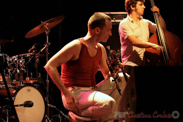 "Médéric Collignon ""Jus de Bocse"". Festival JAZZ360 2011, Cénac. 04/06/2011"