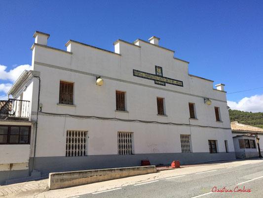 Bogeda cooperativa Santa Cristo del Amparo - 1938, Aibar, Navarra