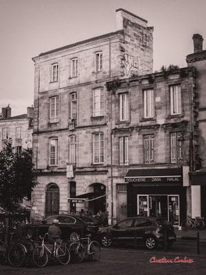 """""""Mur de trinquet à investir"""" Quartier Saint-Michel, Bordeaux. Mercredi 24 juin 2020. Photographie © Christian Coulais"""
