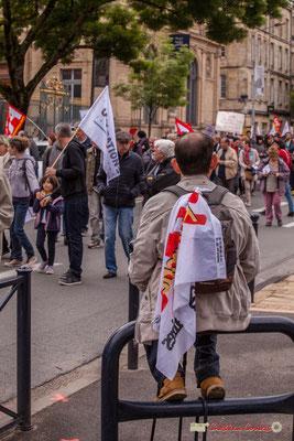 10h42 Pause militante. Cours d'Albret, Bordeaux. 01/05/2018