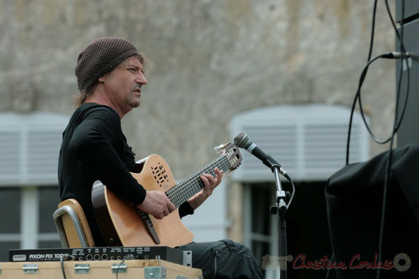 Philippe Bayle; Philippe Bayle Trio. Festival JAZZ360 2011, Quinsac. 05/06/2011