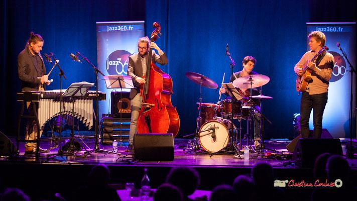 Félix Robin, Louis Laville, Thomas Galvan, Thomas Gaucher; Capucine Quartet, Soirée Cabaret JAZZ360, Cénac. Samedi 16 mars 2019