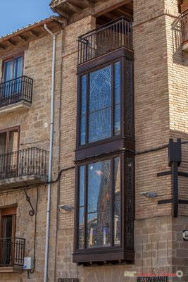 Façade d'une maison noble, Olite, Navarre / Fachada de una casa noble, Olite, Navarra