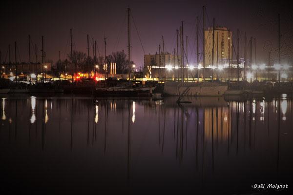 Bassins à flots photographiés par Gaël Moignot. Bordeaux, 27 février 2019