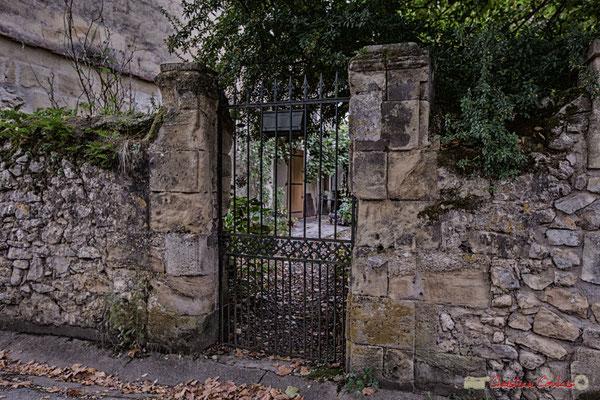 Portail, Quinsac. Prix départemental du Paysage, 30/10/2017