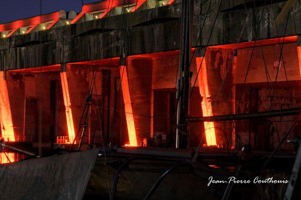Base sous-marine photographiée par Jean-Pierre Couthouis. Bordeaux, 27 février 2019