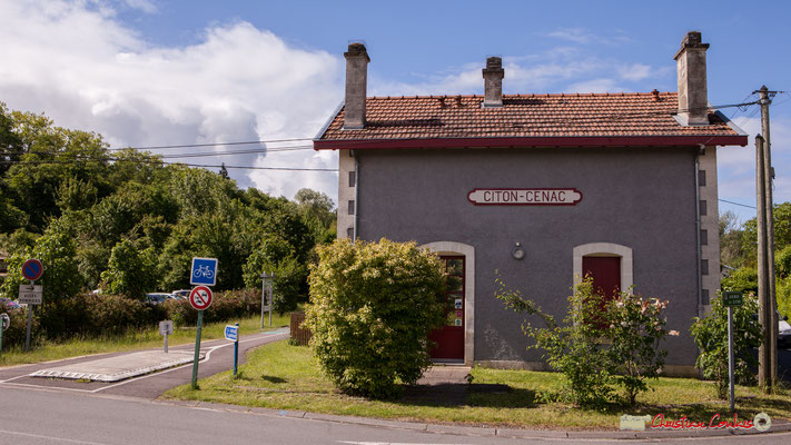 Gîte intercommunale de la gare de Citon-Cénac. 13/05/2018