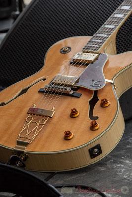 Guitare de Yori Moy, Alexis Valet Sextet, JAZZ360 2016, Quinsac