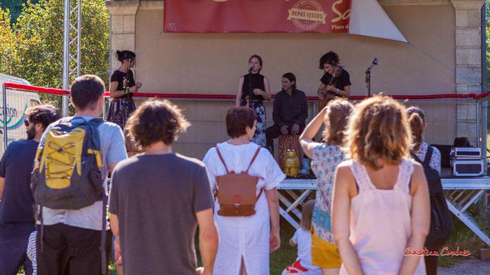 Timo Pheievna en concert. Festival Ouvre la voix, Musée du Patrimoine sensible du créonnais, Sadirac, dimanche 5 septembre 2021. Photographie © Christian Coulais