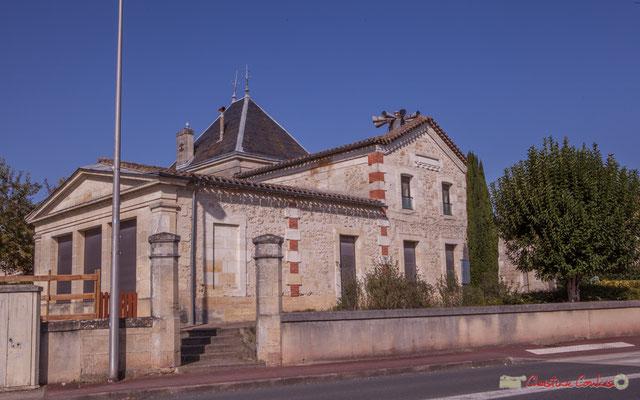 Villa Argentina, avenue de la République, Cénac, Gironde. 16/10/2017