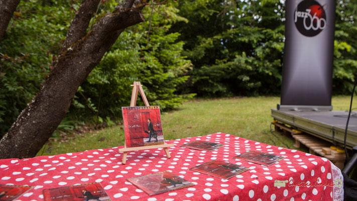 """Mise en vente de l'extended play (EP) """"De alli pacà"""". Pique-nique vigneron avec Nicolas Saez Quartet, Festival JAZZ360 2019, Château Duplessy, Cénac, lundi 10 juin 2019"""