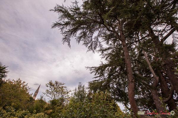 Chemin de randonnée; parc en centre bourg de Quinsac. Prix départemental du Paysage, 30/10/2017