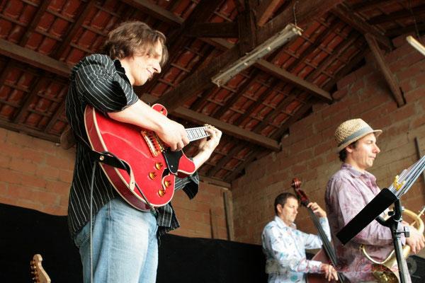 Hans Van Heven; Florinda Piticchio & Balarm Quartet, Festival JAZZ360 2011, Cénac. 05/06/2011