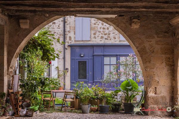 """""""Emban verdoyant"""" Cité médiévale de Saint-Macaire. 28/09/2019. Photographie © Christian Coulais"""