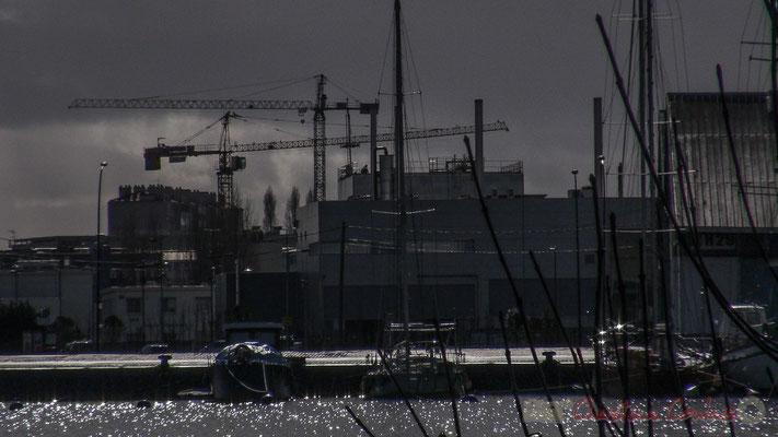 Port de plaisance et Bassins à flot, Bordeaux, Gironde. Vendredi 26 février 2016