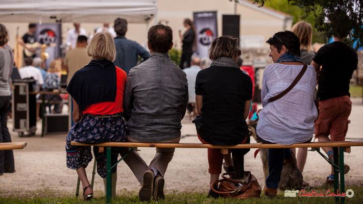 """1/2 """"Pour écouter assis, première solution"""" Shob & Friends. Festival JAZZ360 2018, Quinsac. 10/06/2018"""