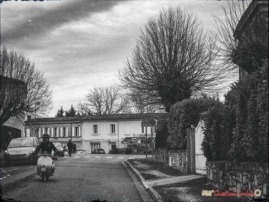 Avenue de la République, Cénac, Gironde. 13/01/2018