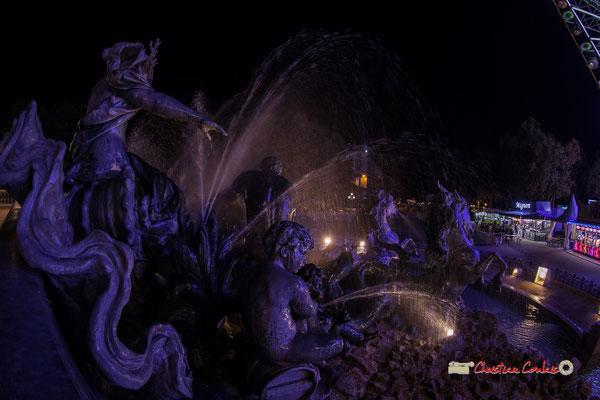 Monument aux Girondins, bassin le triomphe de la Concorde. Bordeaux, mercredi 17 octobre 2018. Reproduction interdite - Tous droits réservés © Christian Coulais