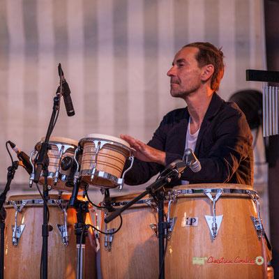 Philippe Ciminato; Adrien Brandéis Quintet, Festival JAZZ360 2019, Langoiran. 06/06/2019