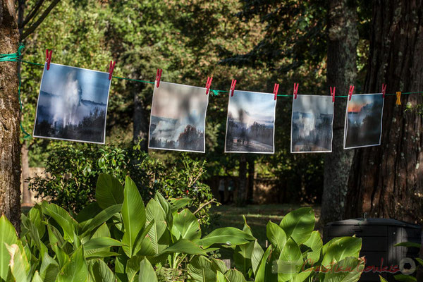 De multiples photographies, toutes saisons, attestent des rejets dans l'air, mais quid du ruisseau le Lubert ?