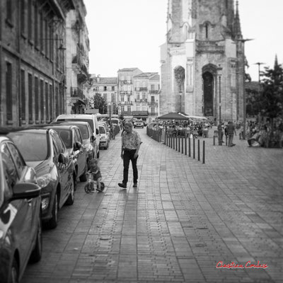"""""""Place au (petit) vélo en ville"""" Quartier Saint-Michel, Bordeaux. Mercredi 24 juin 2020. Photographie © Christian Coulais"""
