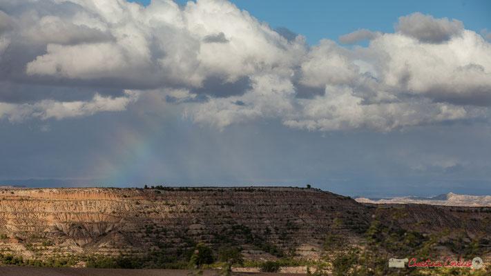 Arc en ciel / Arco iris, El Plano, Parque natural de las Bardenas Reales, Navarra