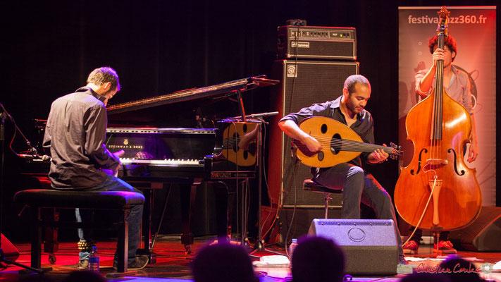 Eym Trio; Elie Dufour, Mohamed Abozekry, Yann Phayphet. Festival JAZZ360, Cénac, 09/06/2017