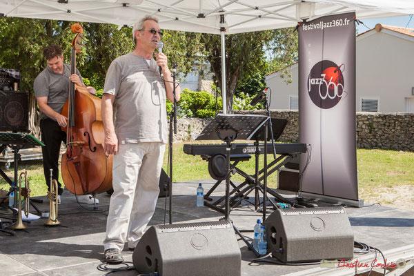 Présentation d'On Lee Way par Bernard Capdepuy, conseiller municipal à Quinsac. Festival JAZZ360, 11/06/2017