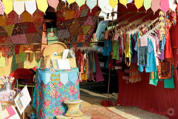 Boutique artisanale. Avant-concert de Roger Biwandu Quintet. Festival JAZZ360, Cénac. 03/06/2011