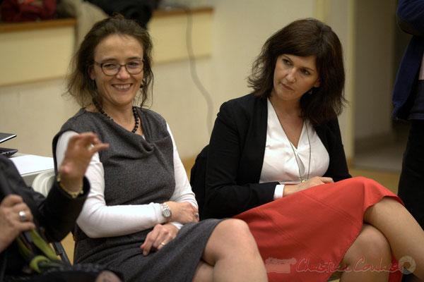 Mathilde Feld, Anne-Laure Fabre-Nadler, candidates aux élections départementales 2015