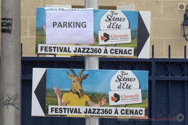 Le Festival JAZZ360 2012 est une Scène d'été de la Gironde. Place du bourg, Cénac, 09/06/2012