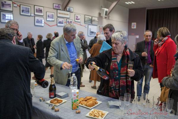 Mise à l'honneur du Crémant de Bordeaux, salle polyvalente de Camarsac
