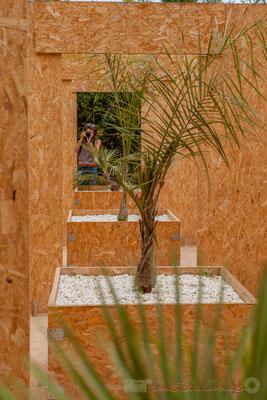 Cabinet de curiosités végétales; Edouard Champalle, Benjamin Cote, Romain Péquin, architectes; France. Mercredi 26 août 2015. Photographie © Christian Coulais