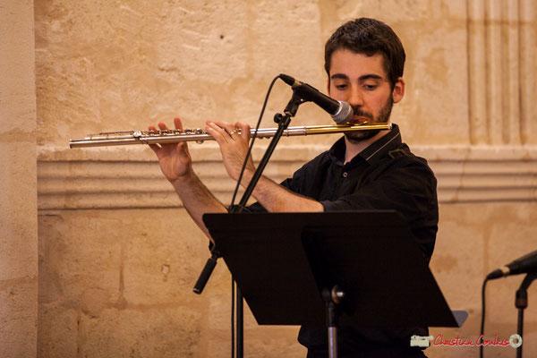 Alexandre Aguilera; Big Band Jazz du conservatoire de Bordeaux Jacques Thibaud. Festival JAZZ360 2018, Cénac. 09/06/2018