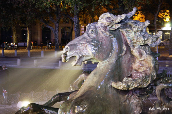 Monument aux Girondins par Gaël Moignot. Bordeaux, mercredi 17 octobre 2018